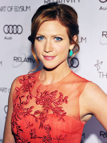 Brittany Snow Elysium Heaven Gala Red Carpet - P 2012