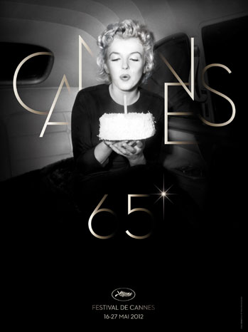 65th Cannes Film Festival Marilyn Monroe Poster - P 2012