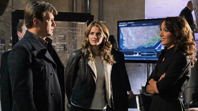 Castle Nathan Fillion Stana Katic Jennifer Beals: TV Still 2/13 - H 2012