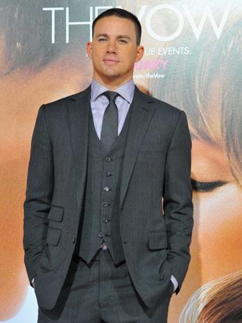 Channing Tatum Vow Premiere 2012 P