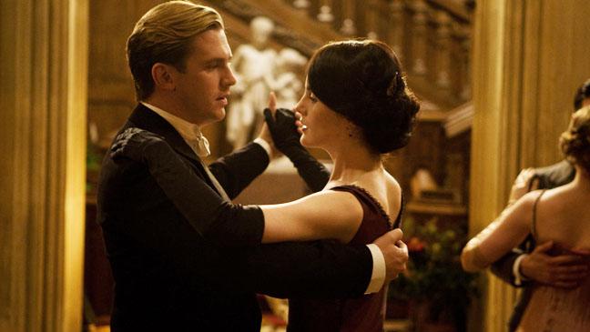 Downton Abbey Dan Stevens Michelle Dockery Dancing  - H 2012