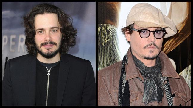 Edgar Wright Johnny Depp Split - H 2012