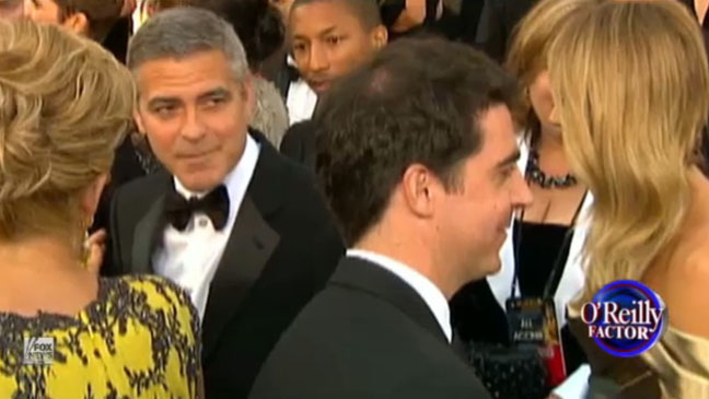 George Clooney Jesse Watters - H 2012