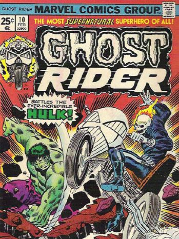 Ghost Rider Comic Art - P 2012