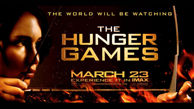 Hunger Games Banner - H 2012