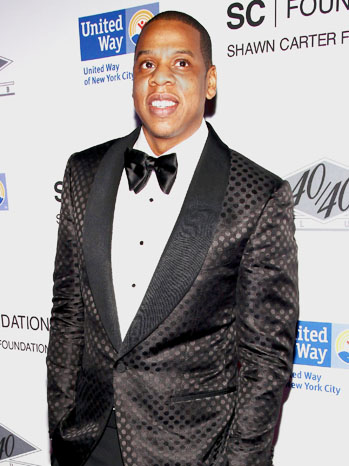 Jay Z Carnegie Hall United Way Benefit After Party - P 2012