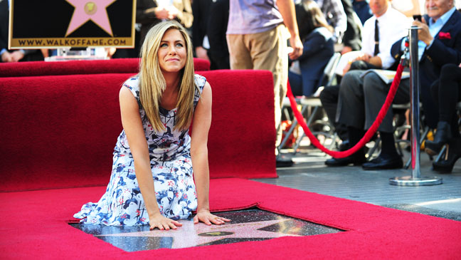 Jennifer Aniston Walk of Fame - H 2012