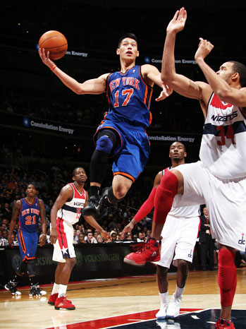 Jeremy Lin against Washington Wizards - P 2012