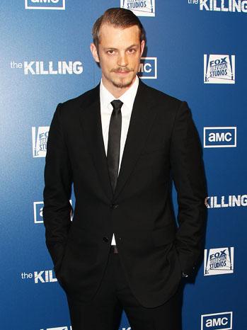AMC The Killing Joel Kinnaman Red Carpet - P 2012