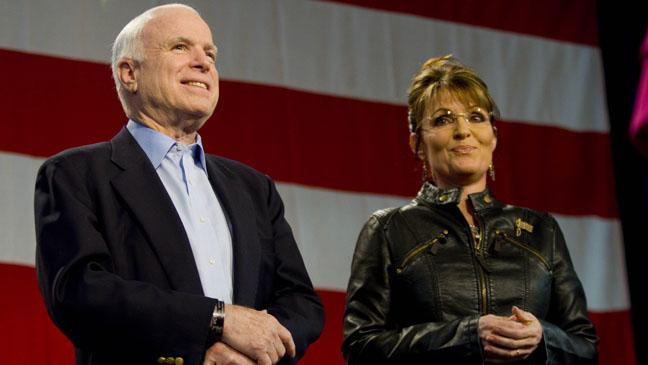 John McCain Sarah Palin - H 2012