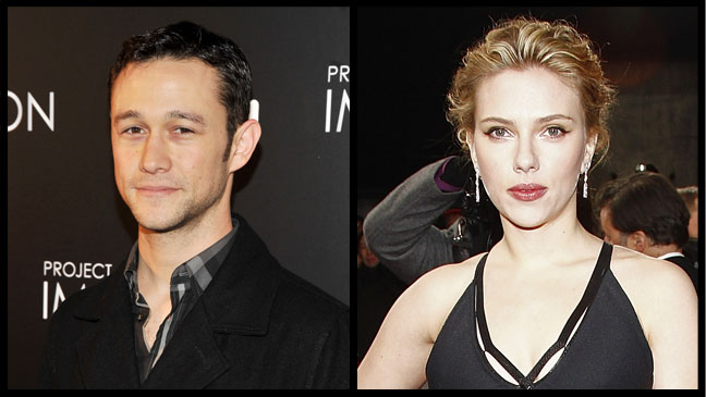 Joseph Gordon Levitt and Scarlett Johansson - H 2012