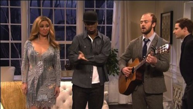 Just Timberlake Bon Iver SNL