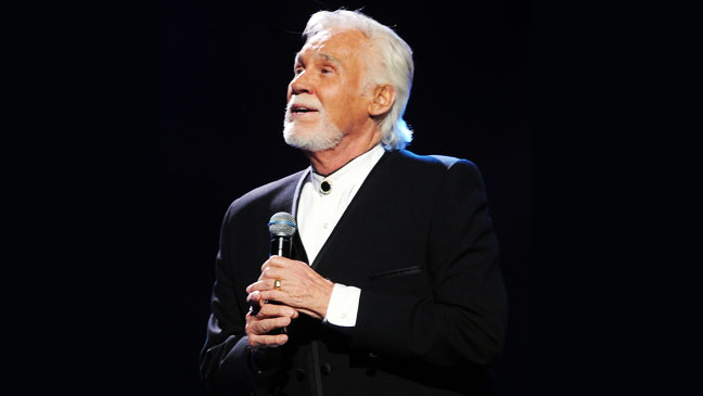 Kenny Rogers GMA Dove Awards on stage - H 2012