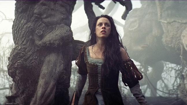 Snow White and the Huntsman Kristen Stewart in woods - H 2012