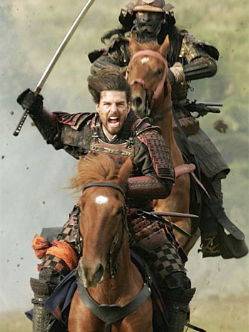 The Last Samurai Tom Cruise on Horse - P 2012