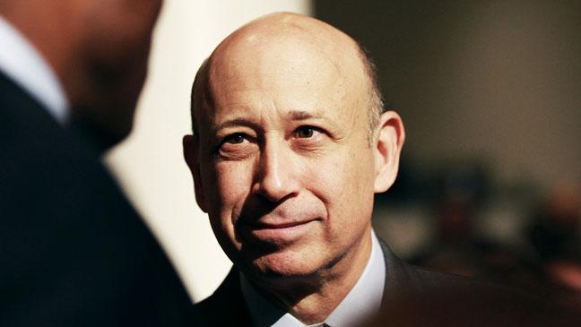 Lloyd Blankfein CEO Goldman Sachs - H 2012