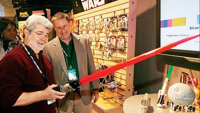 2012-06 FEA Star Wars George Lucas Light Saber H