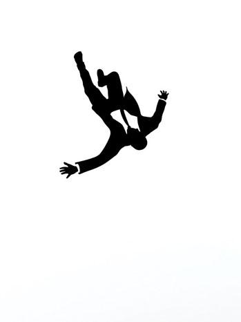 Mad Men Falling Poster