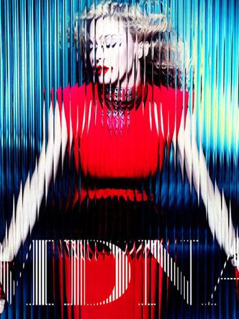 Madonna MDNA Cover - P 2012