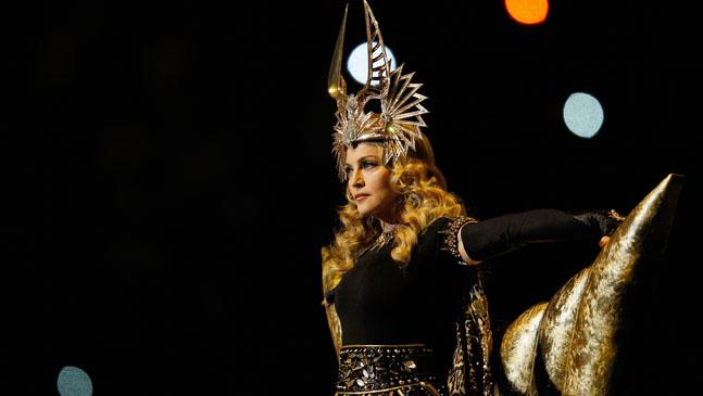 Madonna Super Bowl Halftime H 2012
