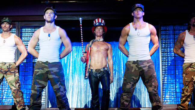 Magic Mike McConaughey Tatum Dancing on Stage - H 2012