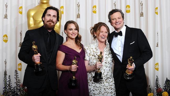 Christian Bale Colin Firth Melissa Leo Natalie Portman - H 2012