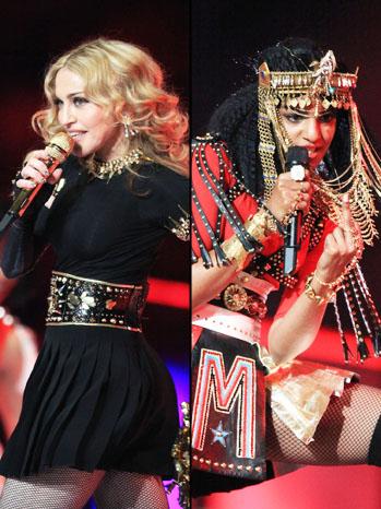Madonna M.I.A Split - P 2012