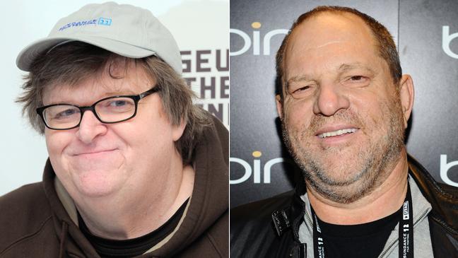 Michael Moore Harvey Weinstein - H 2012