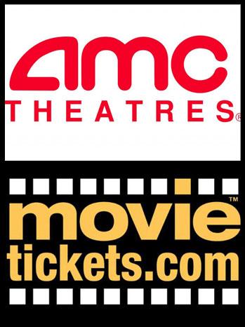 Movietickets.com AMC entertainment logo Split - P 2012