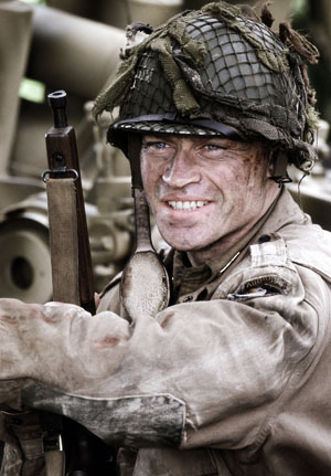 Neal McDonough as Lynn D. Compton Band of Brothers - P 2012