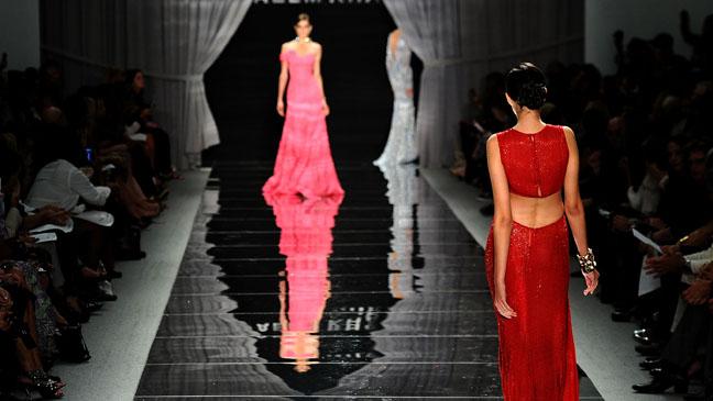 New York Fashion Week Runway - H 2012