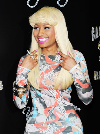 Nicki Minaj Cash Money Records Red Carpet - P 2012