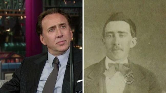 Nicolas Cage Vampire Split David Letterman Screen Grab - H 2012
