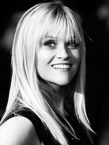 Reese Witherspoon This Means War UK Premiere Black/White - P 2012