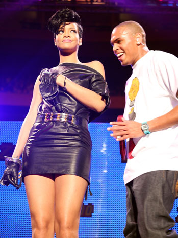 Rihanna Chris Brown Jingle Ball Madison Square Garden - P 2012