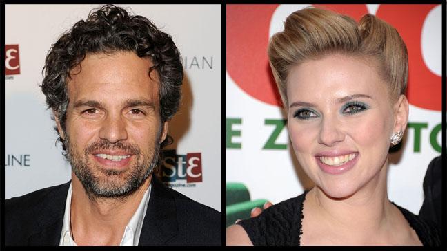 Mark Ruffalo Scarlett Johansson Split - H 2012
