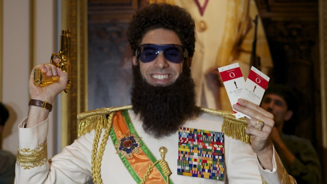 Sacha Baron Cohen Dictator Oscar Tickets H 2012
