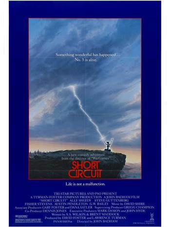 Short Circuit 1986 Poster - P