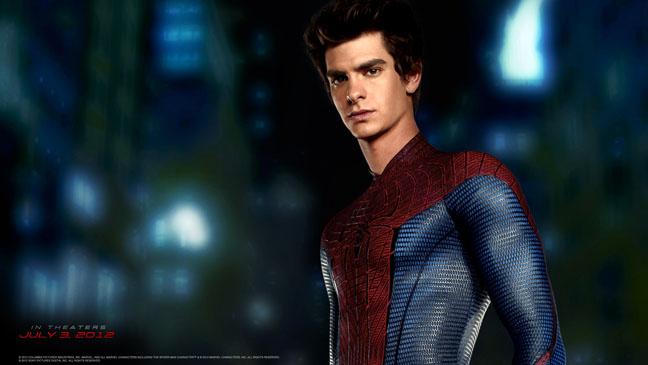 The Amazing Spiderman Peter Parker Andrew Garfield Wallpaper - H 2012