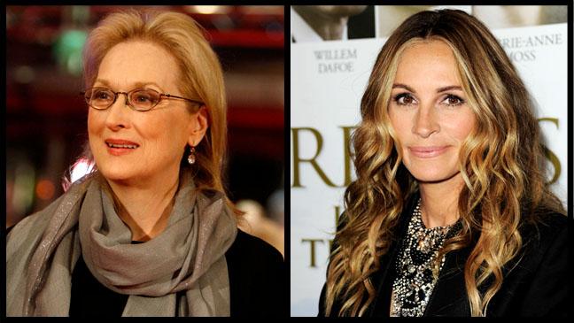Meryl Streep Julia Roberts Split - H 2012