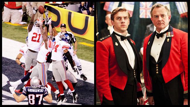Super Bowl XLVI Downton Abbey Split - H 2012