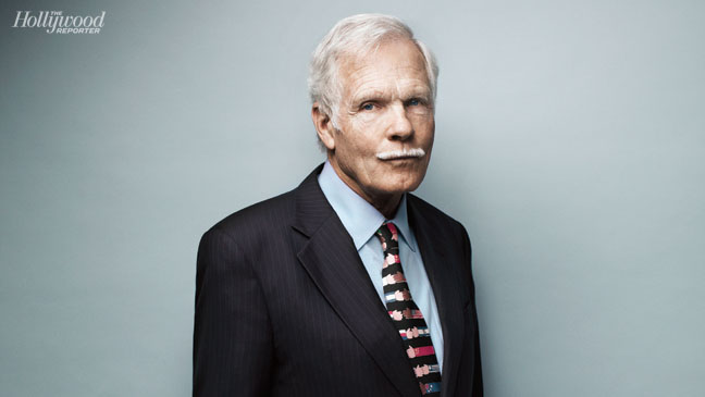 Ted Turner THR Cover Shoot Main Image - H 2012