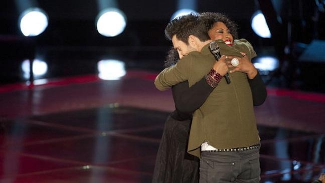 Adam Levine Kim Yarbrough The Voice 2012