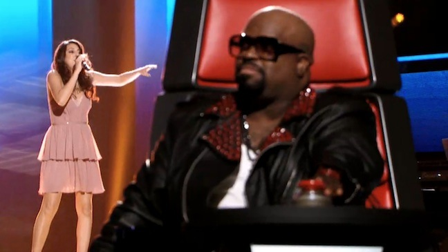 Charlotte Sometimes Cee Lo Green The Voice 2012