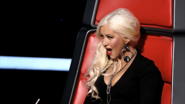 The Voice Christina Aguilera 2012