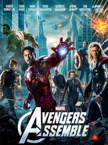 The Avengers New One Sheet - P 2012