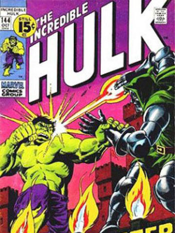 The Incredible Hulk Comic Cover Art - P 2012