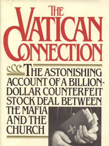 The Vatican Connection Richard Hammer Cover - P 2012