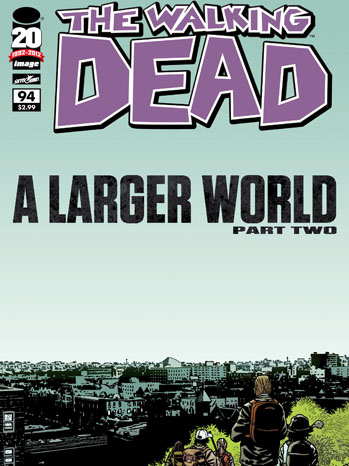 The Walking Dead Issue 94 Cover Art - P 2012