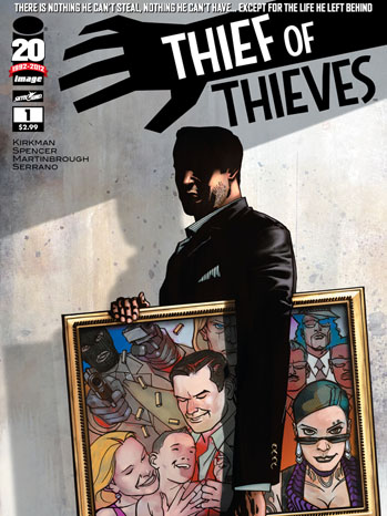 Thief of Thieves Cover Issue 1 - P 2012